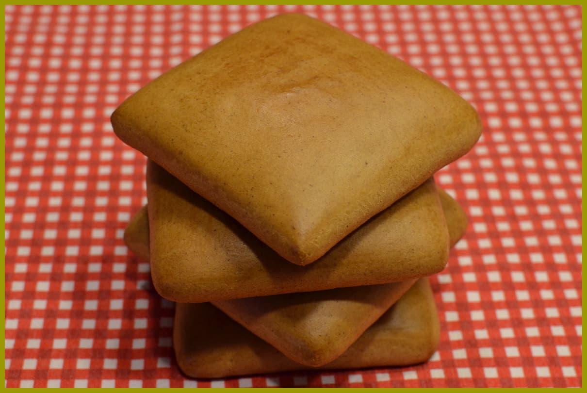 Lebkuchen ohne Dekor